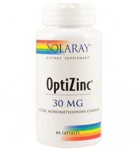OptiZinc SECOM Solaray 60 capsule